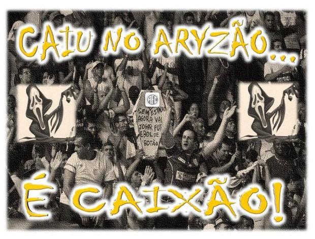 Goytacaz, peça internet - Caiu no Aryzão, tá morto (Foto: Divulgação)