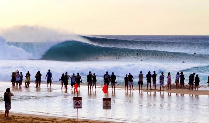 trials pipeline havaí circuito mundial de surfe (Foto: WSL)