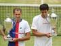 """""""Ultra especial"""": Soares e Melo sonham com final brasileira em Wimbledon"""