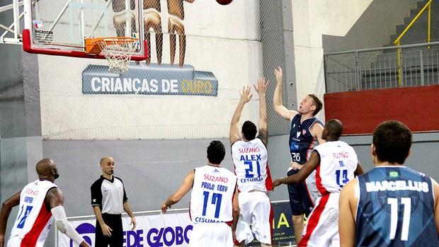 basquete Suzano x Tijuca NBB  (Foto: Vitor Geron )