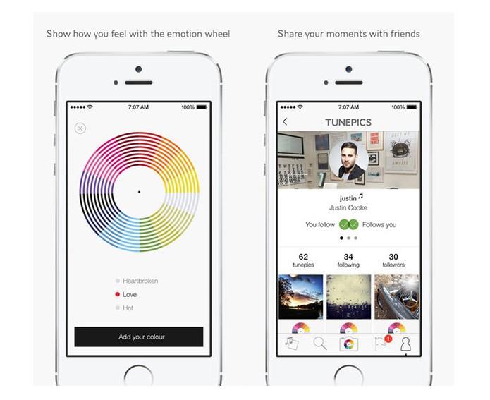 Conheça Tunepics, um Instagram que permite publicar músicas junto as fotos (Foto: Divulgação/Tunepics)