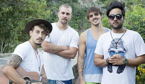 Banda Leash (Foto: Foto: Felipe Monteiro / Gshow)