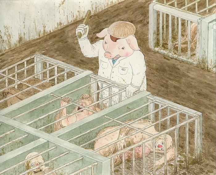 Ilustração feita por Christopher Golebiowski (Foto: Reprodução)