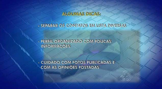 Especialistas orienta como utilizar de forma segura as redes sociais (Foto: Amazônia TV)