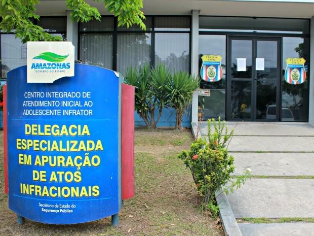 Delegacia Especializada em Apuração de Atos Infracionais (Deaai) (Foto: Adneison Severiano/G1 AM)