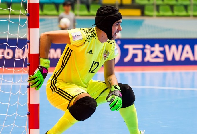 Gustavo Rússia Mundial de Futsal (Foto: Getty Images/Fifa)