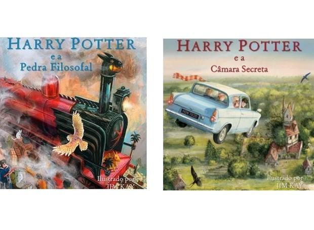 Capas dos livros ilustrados  (Foto: Divulgação)