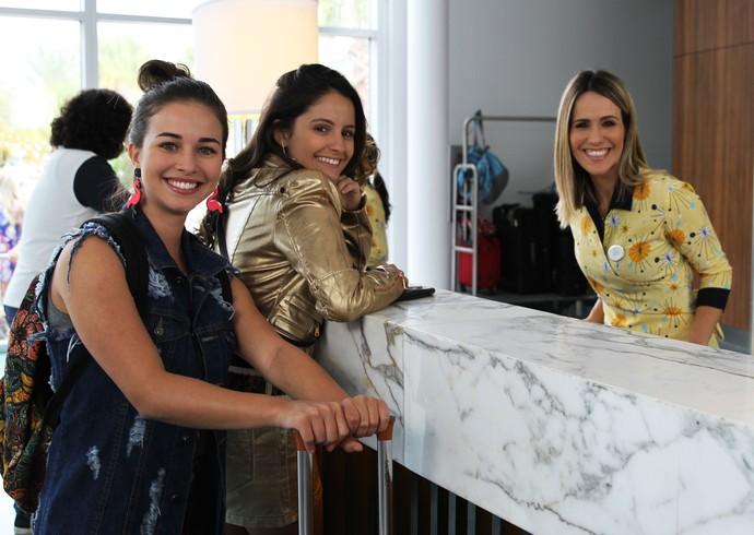 Fernanda grava participação especial em 'Malhação - Pro Dia Nascer Feliz' (Foto: Letícia Souza/Gshow)
