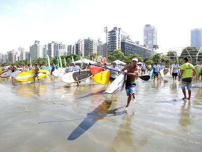 Stand Up Paddle - Santos (Foto: Divulgação/Prefeitura de Santos)