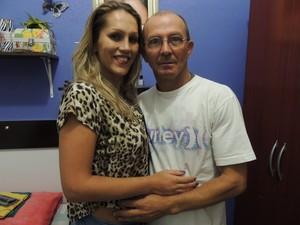 Ela e o namorado planejam se casar (Foto: Carolina Paes/G1)