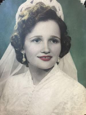 Raissa Prelipko no primeiro casamento (Foto: Arquivo pessoal)