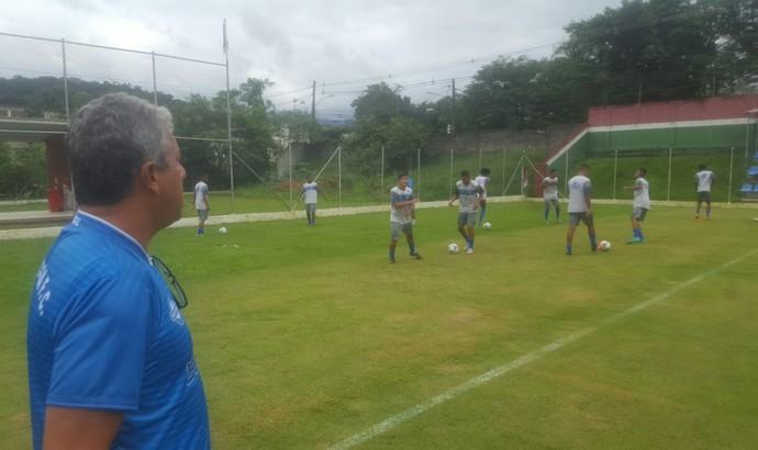 Barra Mansa venceu os juniores do Fluminense em jogo-treino (Foto: Allysson Costa/Barra Mansa FC)