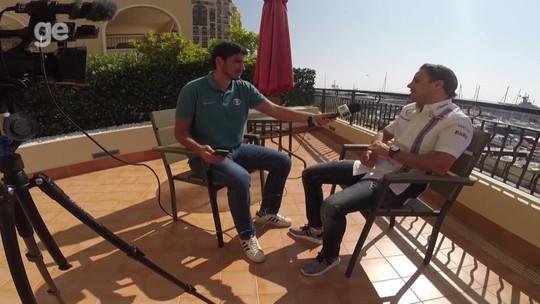 """Massa se vê na melhor forma da carreira e avisa: """"Se tiver ano bom, posso continuar"""""""