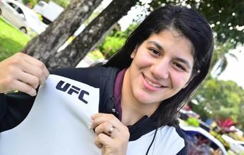Ketlen Vieira vive sonho de estrear no UFC após largar faculdade de Direito