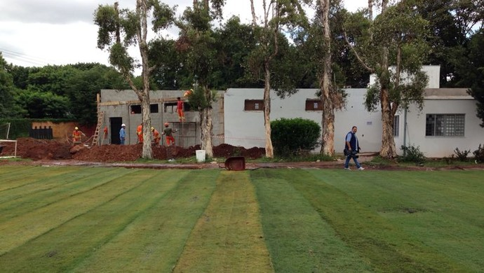 Centro de Treinamento Jardim Eulina Ponte Preta seleção Portugal Copa do Mundo Campinas (Foto: Caio Maciel)