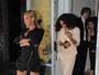 Beyoncé usa vestido curtíssimo em jantar com a irmã Solange Knowles