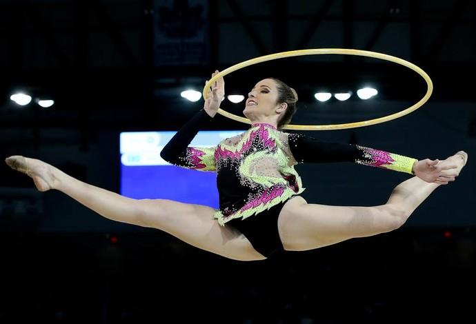 Natalia Gaudio; ginástica rítimica; jogos pan-americanos (Foto: Ricardo Bufolin/CBG)