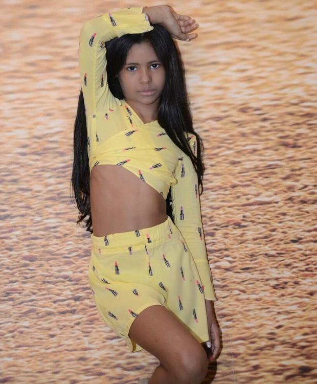 Wenny Isla, irmã de Lexa, lançada como modelo mirim (Foto: Arquivo Pessoal)