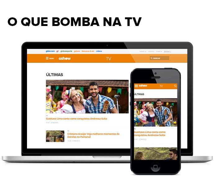 O que bomba na TV (Foto: Gshow)