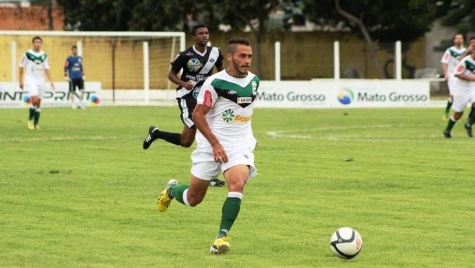 Volante Jean Patrick (Foto: Assessoria/Luverdense Esporte Clube)