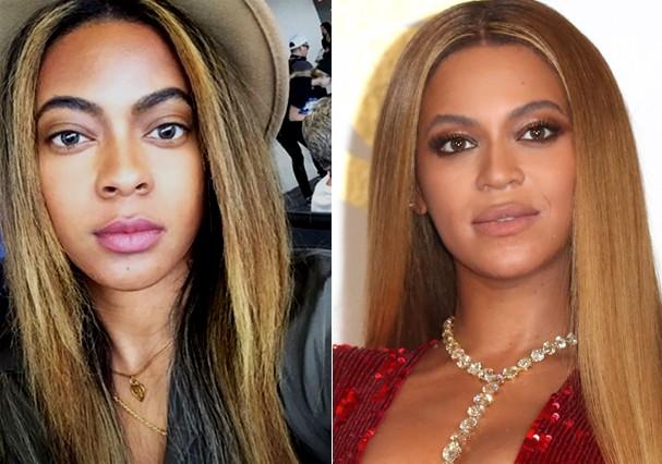 Clone da Beyoncé (Foto: Instagram/Getty Images)