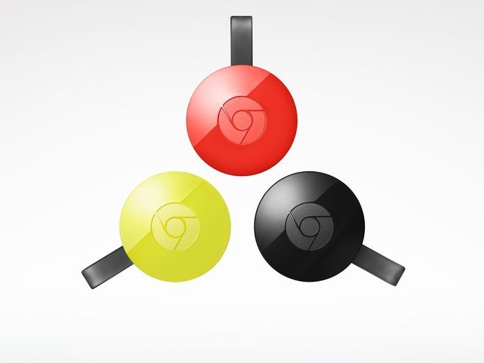 Além de novas funções, Chromecast 2 tem novo visual (Foto: Divulgação/Google)