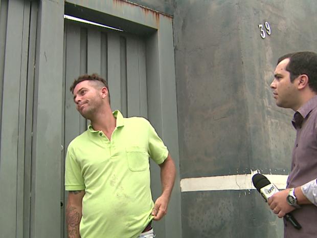 Eder afirma que comprou imóvel e diz que foi enganado por tia de Fernanda em Ribeirão Preto (Foto: Reprodução / EPTV)