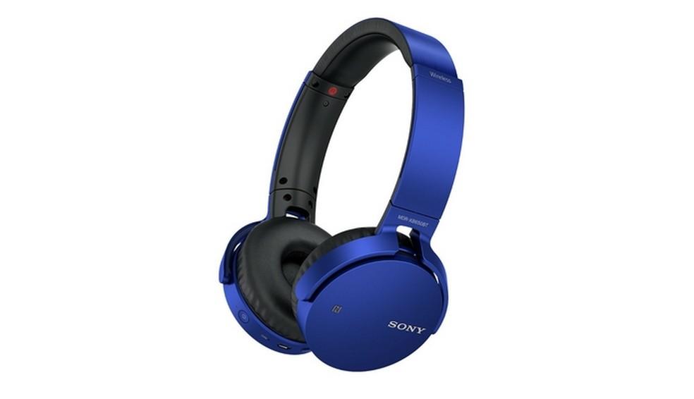 Fone de ouvido para graves Sony Extra Bass MDR-XB650BT  (Foto: Divulgação/Sony)
