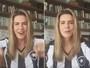 Maitê Proença vibra com Botafogo e fã relembra promessa: 'Cadê nude?'