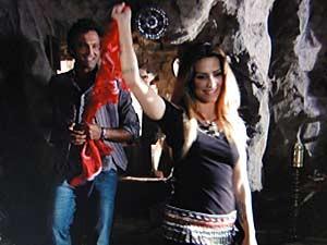 Bianca impressiona Zyah  (Foto: Salve Jorge/TV Globo)