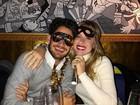 Veja fotos dos famosos em festas de réveillon no Brasil e no mundo