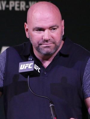Dana White; UFC (Foto: Evelyn Rodrigues)