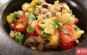 Receita do Dia 9: Salada de bacalhau com feijão fradinho
