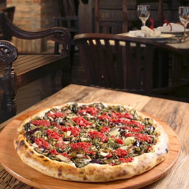 Veridiana Pizza é um dos restaurantes que participam da Vegan Week (Foto: Divulgação)