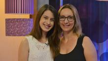 Professora de música, mãe de Letícia elogia talento da filha (Maicon Hinrichsen/RBS TV)
