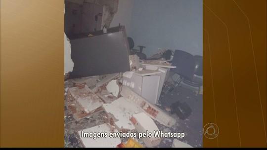 Bandidos explodem cofres de banco no Litoral Norte da Paraíba, diz polícia
