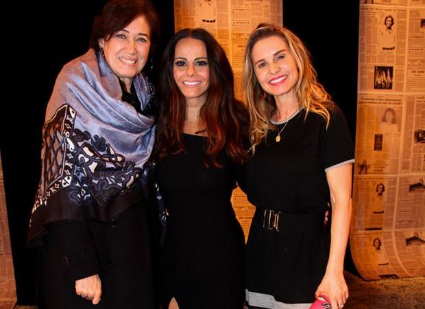 Lília Cabral, Viviane Araújo e Paula Burlamaqui (Foto: Marcos Ribas/Brazil News)