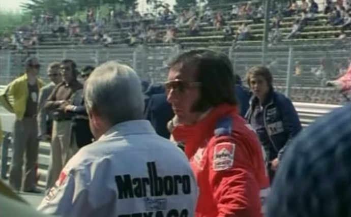 O campeão vigente, Emerson Fittipaldi, desistiu de correr por causa da falta de segurança no circuito espanhol (Foto: Reprodução / YouTube)