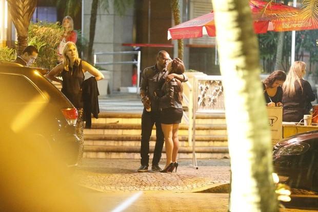 Thiaguinho e Fernanda Souza (Foto: Henrique Oliveira/Agnews)