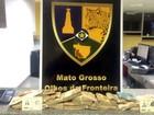 Três bolivianos são presos com R$ 54 mil na fronteira de MT com a Bolívia