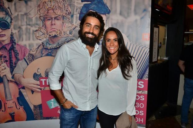 Ricardo Pereira e Francisca Pinto (Foto: Webert Belicio/Agnews)