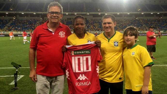 Formiga América-RN seleção feminina Arena das Dunas (Foto: Diego Simonetti/Blog do Major)