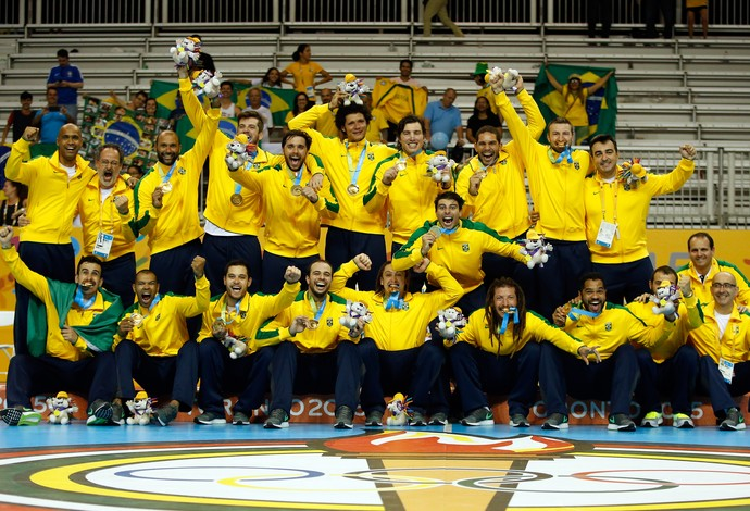 Brasil Argentina final handebol pan toronto (Foto: Getty Images)