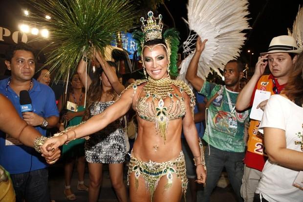 Scheila Carvalho no Rio (Foto: Marcos Serra Lima/EGO)