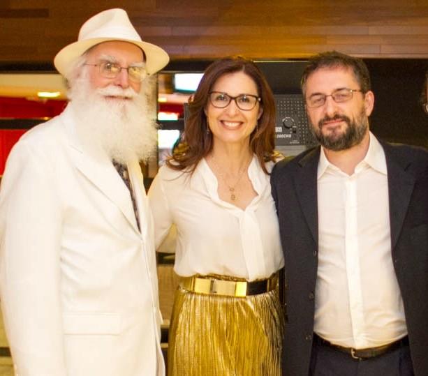 Waldo Vieira, Kíria Meurer e André Norberto (Foto: RBS TV/Divulgação)