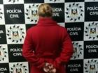 Presa integrante de grupo que cavou túnel (Polícia Civil/Divulgação)