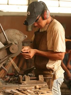 Centro Popular de Cultura e Desenvolvimento (CPCD) Fábrica de brinquedos (Foto: Divulgação / CPCD)