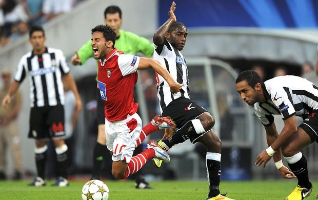 Willians, Braga x Udinese (Foto: Agência EFE)