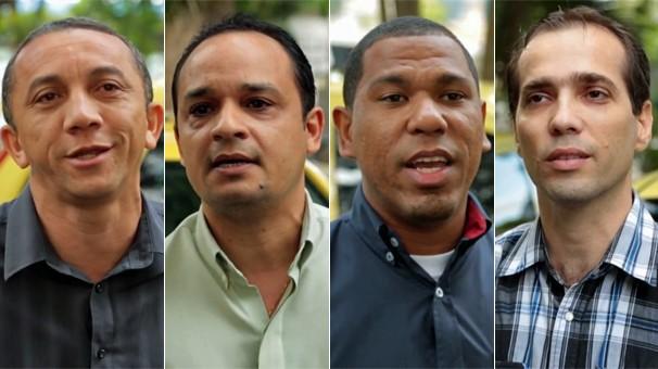 Táxis cariocas ganham aparelhos de TV Digital (Globo)