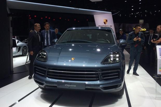 Novo Porsche Cayenne (Foto: Tereza Consiglio)